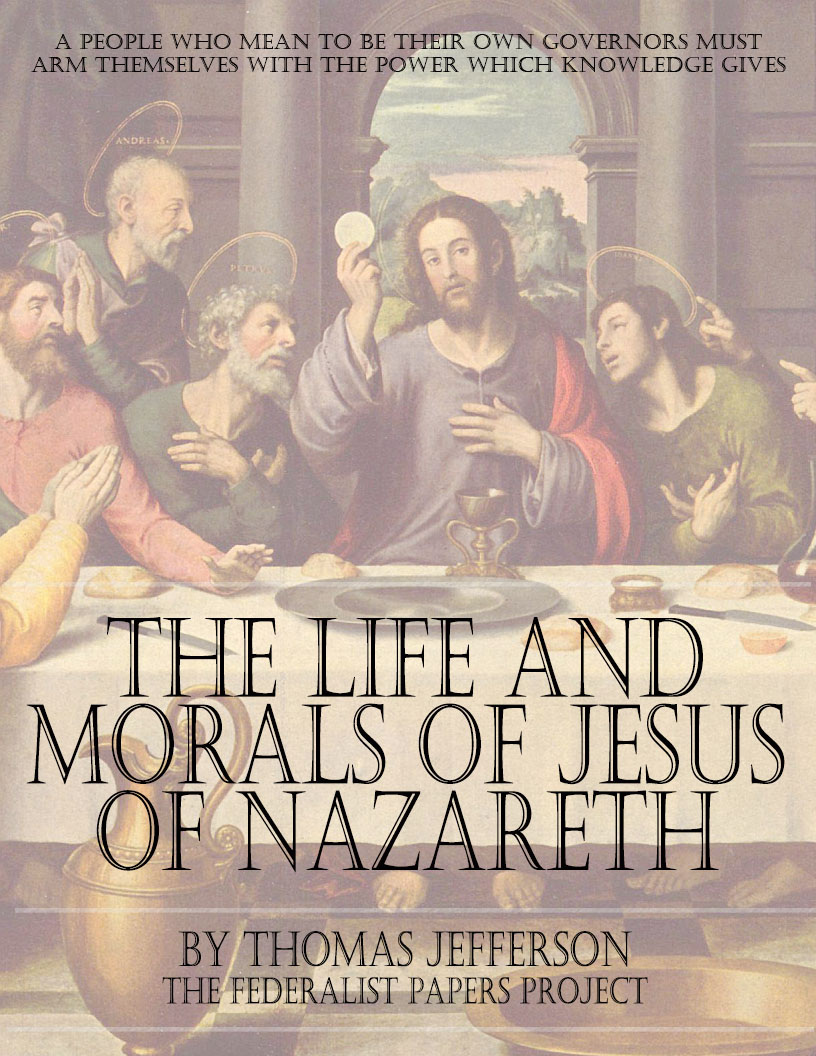 the life and morals of jesus of nazareth