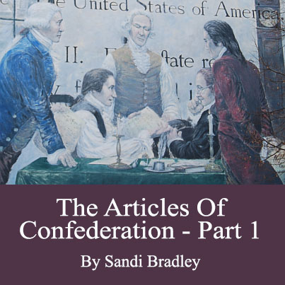 An introduction to the history of articles of confederation