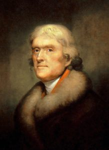 Thomas Jefferson, On History
