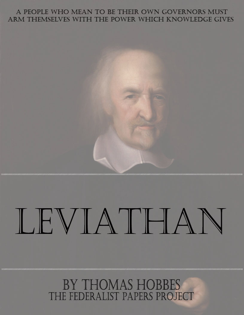 leviathan leviathan by thomas hobbes book cover