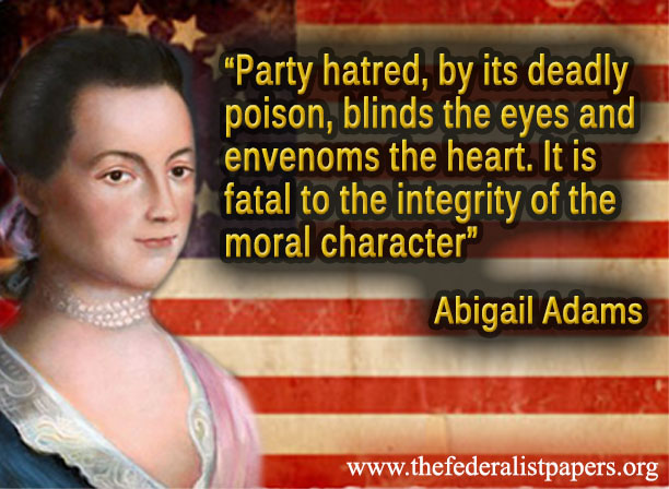 abigail adams essay Us history – abigail adams college essay writing serviceu s paper requirements a paper copy must be submitted by the due date and at least.