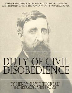 On the duty of civil disobedience essays Coursework Example - 2407 ...