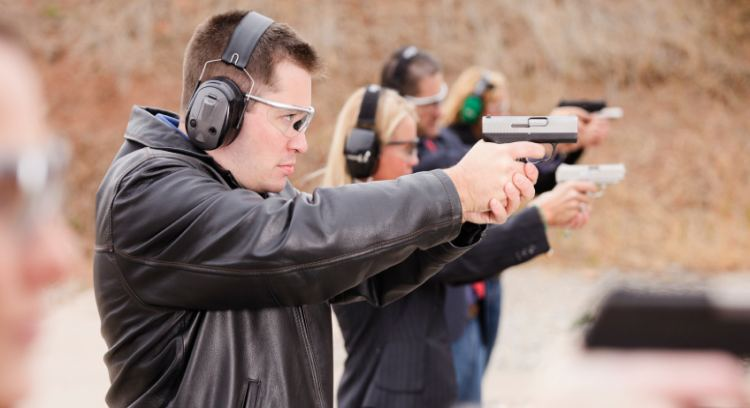 With Ban On Concealed Carry Lifted  Residents Protect