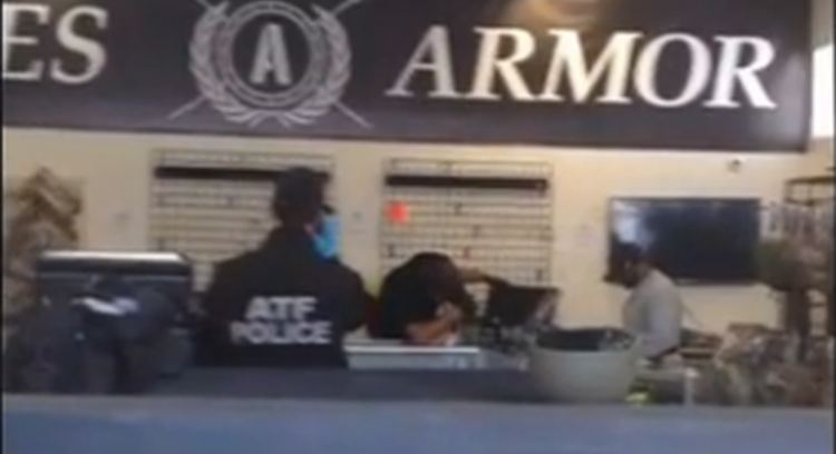 Ares Armor, ATF Raid, youtube screenshot