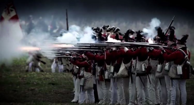 Scene from Dinesh D'Souza's America film trailer