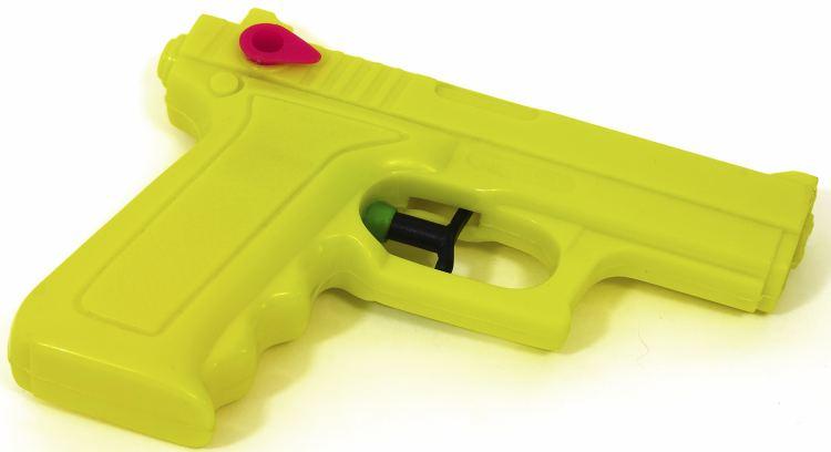 Bright Yellow Water Pistol