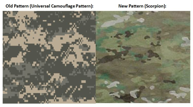 See The New Camouflage Pattern The Army Is Converting To