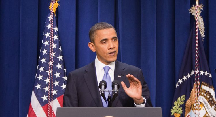 Obama Holds News Conference At The White House