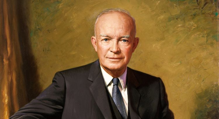 dwight d eisenhower essay Eisenhower dwight d eisenhower was born in 1890 and was also known as little ike by his parents and five brothers he graduated from the united states military academy in west point, ny in 1915.