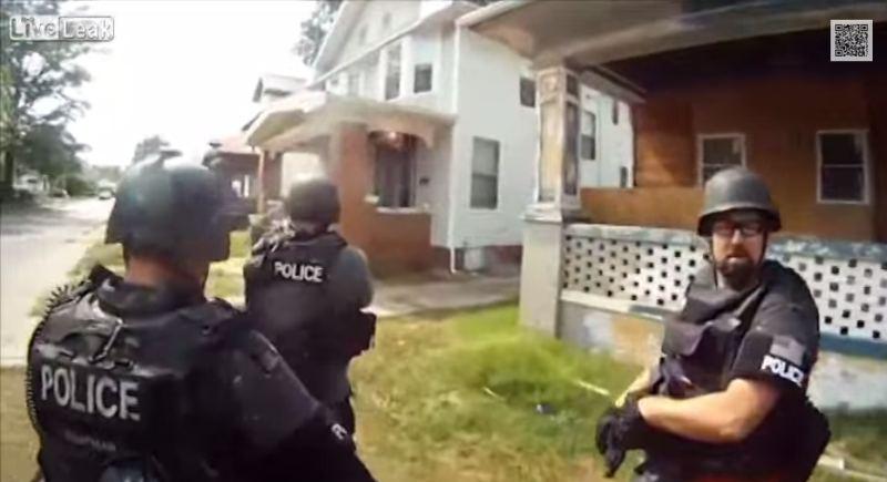 WATCH: Florida Officer Off the Job After SWAT Team Raids