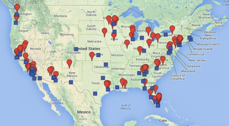 Map Shows Location Of Freed Illegals With Homicide Convictions