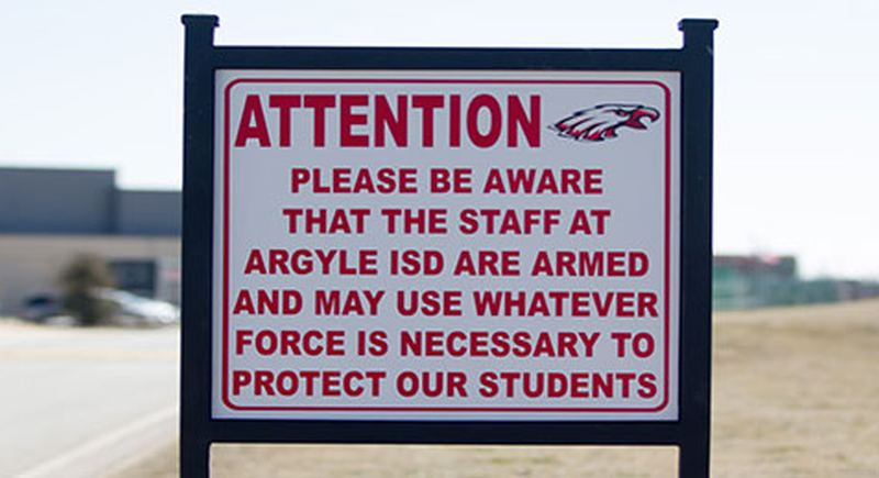 Ohio school district assembles trained teachers, staff as armed response team