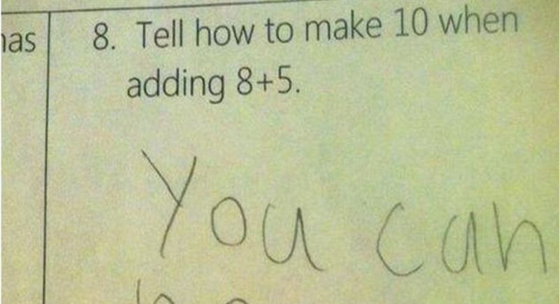 Kid Shows Exactly Why The Common Core Math Doesn T Add Up