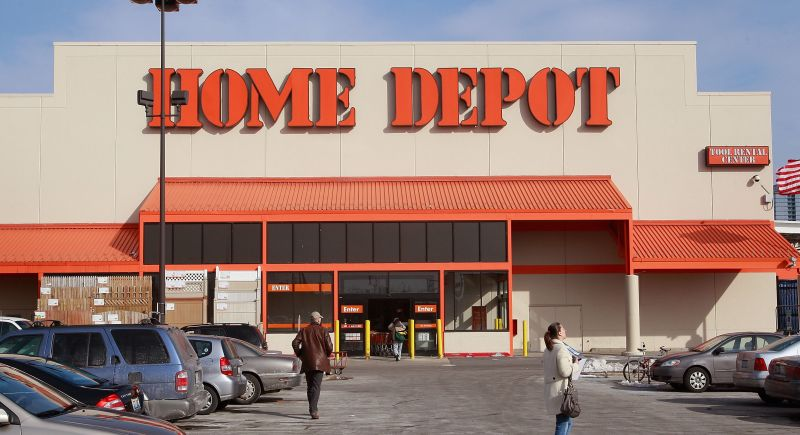 Home Depot Posts A 54 Billion Quarterly Loss
