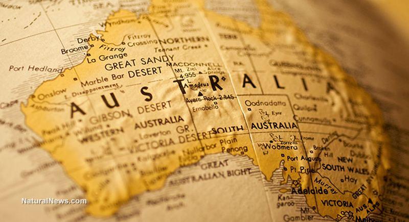 Australia-Map-Globe