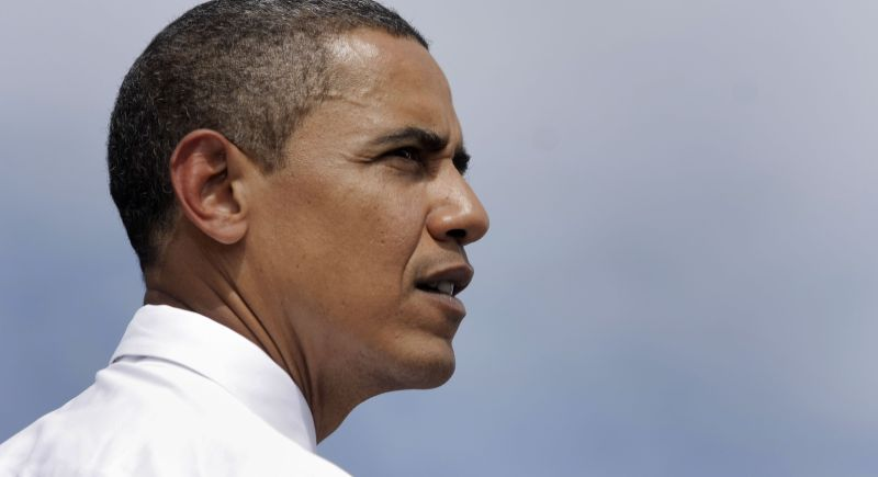 President Obama Speaks At Macomb County Community College In Michigan