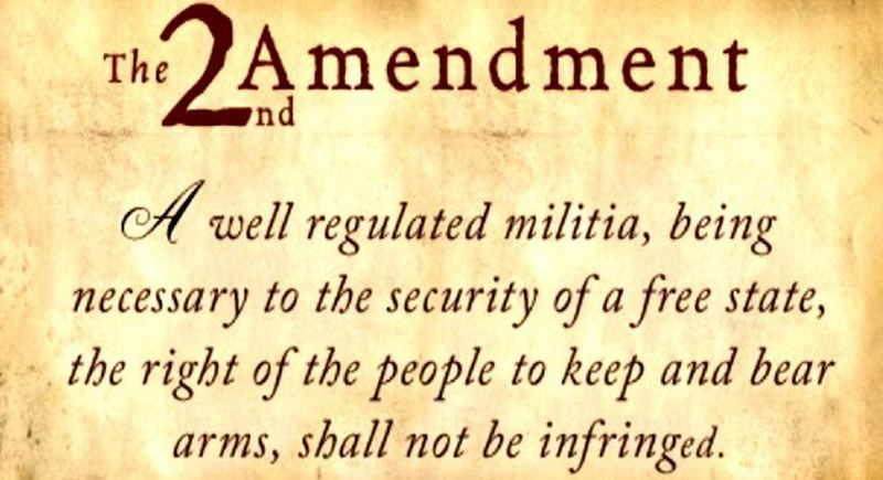 the first and second amendment Heller that the second amendment protects a right to keep and bear arms  the  first amendment right of a political candidate shouting into a.