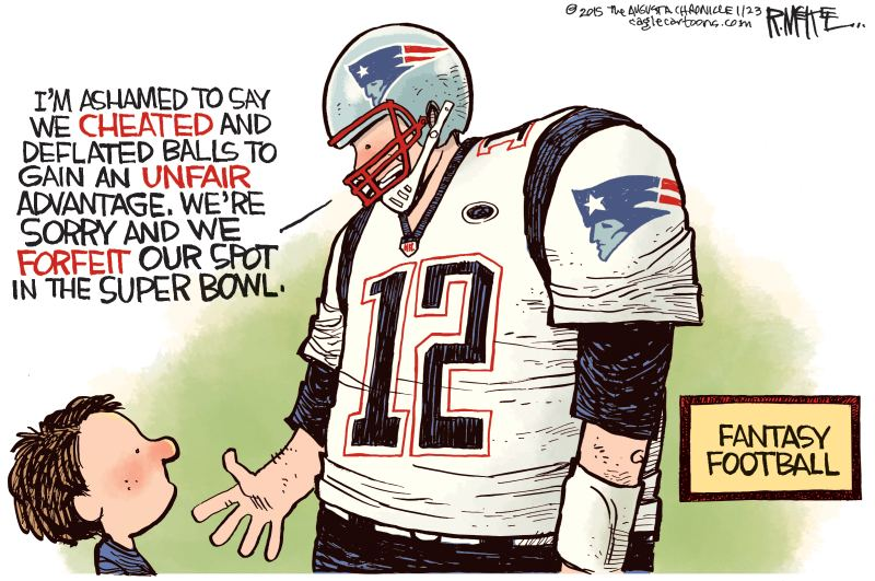 Artist Brilliantly Illustrates What Tom Brady Would Do If The Nfl Or
