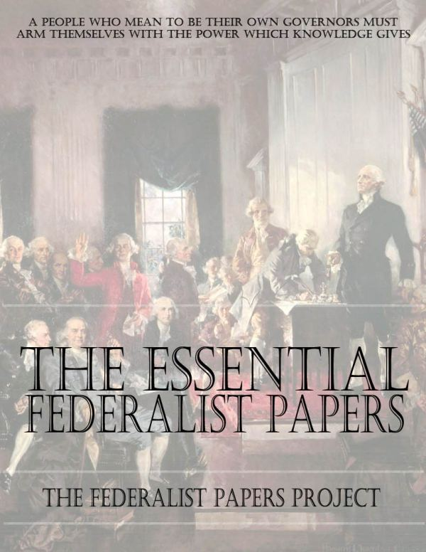 The-Essential-Federalist-Papers
