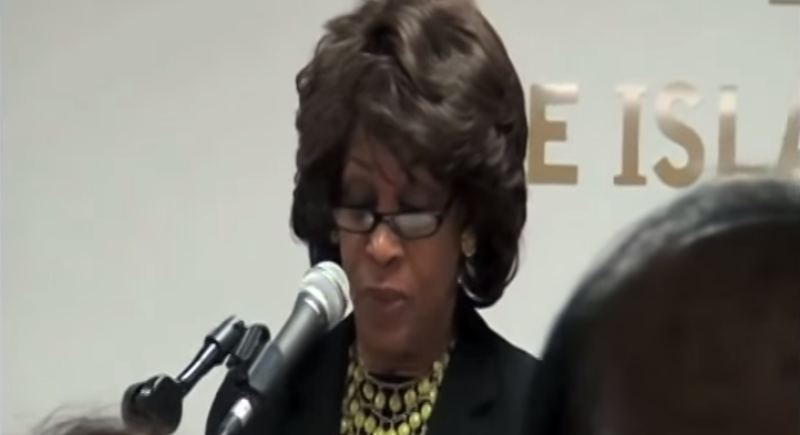 What Maxine Waters Said About Sharia And The Constitution