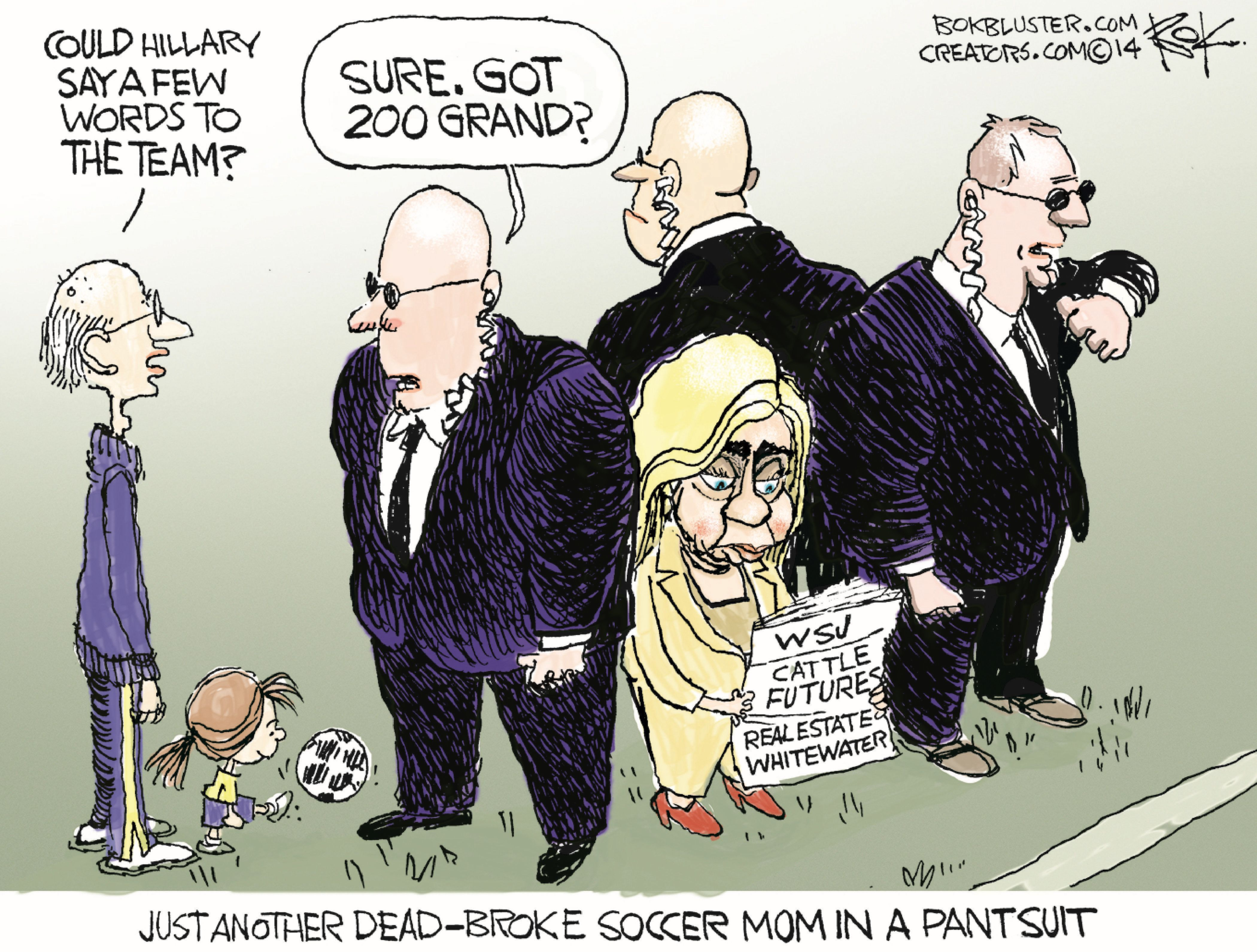 The BEST Cartoons About Hillary's Presidential Announcement