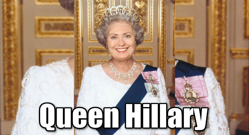 Queen Hillary Wants Illegal Immigrants as her Peasants