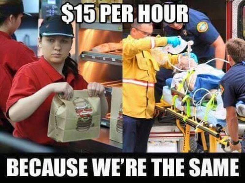 Epic Meme Against Minimum Wage Increase Meme