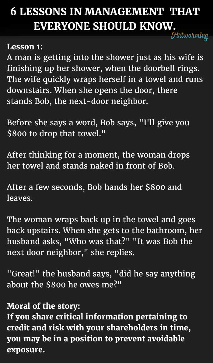Short parables about life
