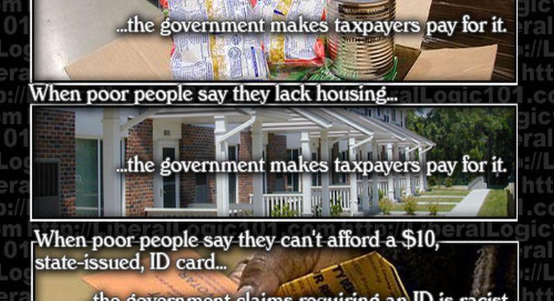 Brilliant Meme Destroys The Left U0026 39 S Narrative On Voter Id Laws