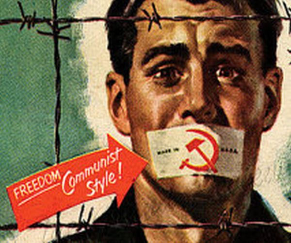 anti communist essay At the time of its first performance, in january of 1953, critics and cast alike perceived the crucible as a direct attack on mccarthyism (the policy of sniffing out communists) its comparatively short run, compared with those of miller's other works, was blamed on anti-communist fervor.