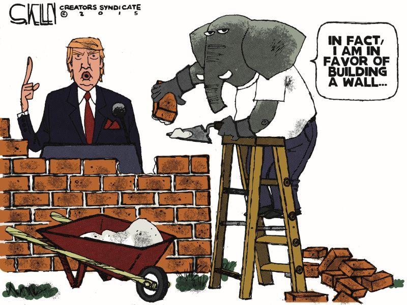 Cartoon Shows EXACTLY How Republicans Should Treat Donald Trump