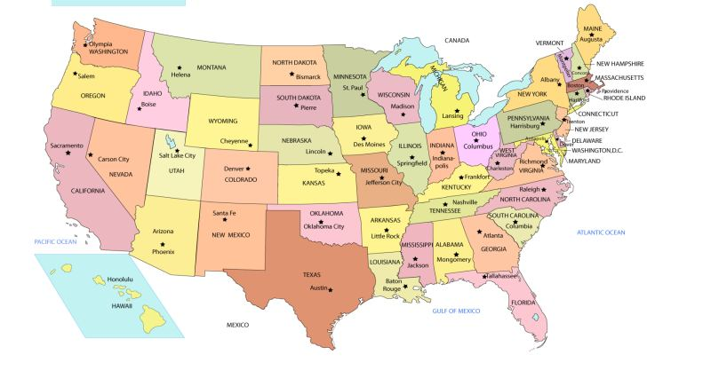 Hilarious State Traffic Laws You Wont Believe Are Real - Us traffic map
