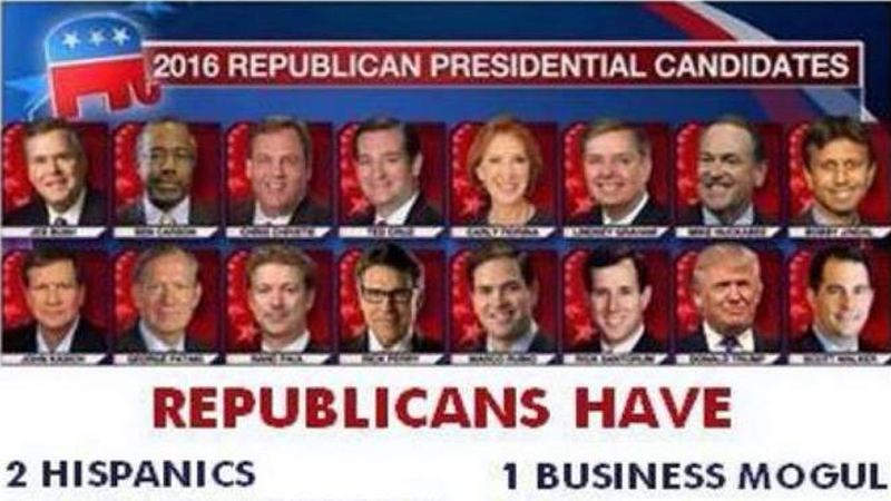 gop and democrat candidates brutally and accurately compared