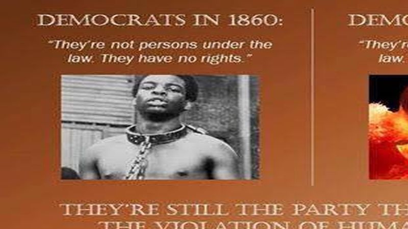 why democrats are still the party of slavery
