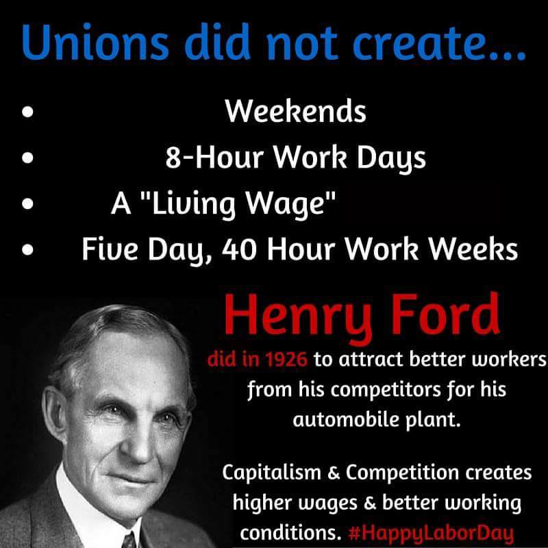 """Henry Ford Education >> Powerful Meme Exposes Hard Truth About Union """"Achievements"""""""