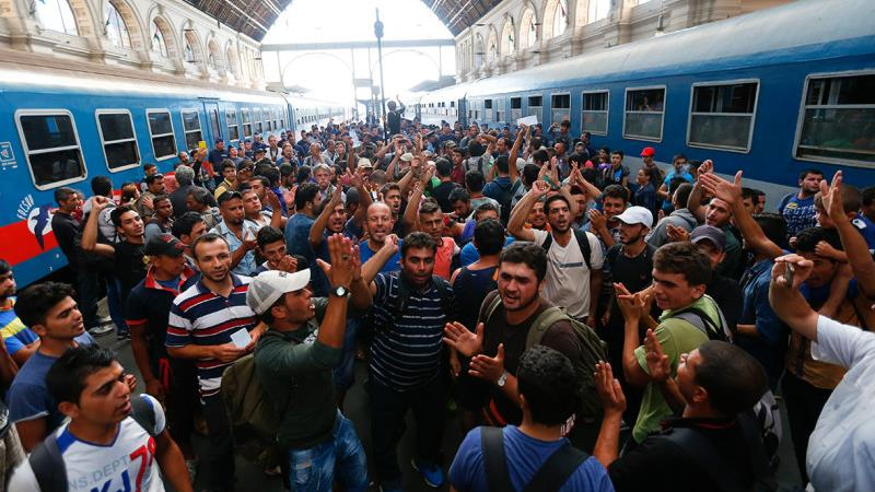 Male Muslim Refugees
