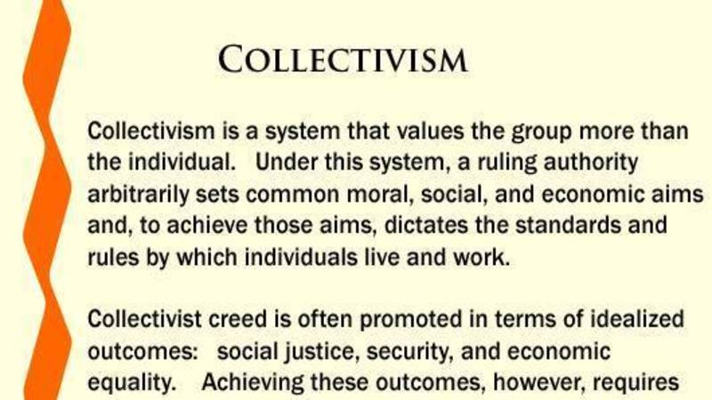 the tricky balance between governments collectivism and equality The economy would not function very well with extreme collectivism either, as government control is better, individualism or collectivism vs balance and.