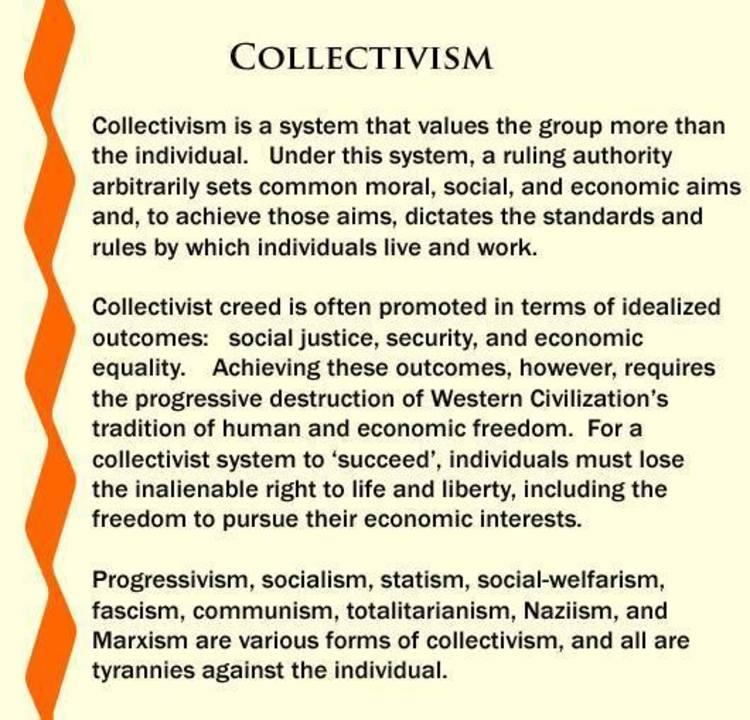 Meme Explains How Detrimental Collectivism Really Is