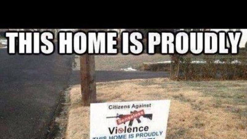 "If You Label a House ""Gun Free"" THIS is What to Expect"