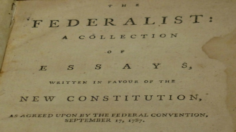 the federalist papers and federalism  research paper example  the federalist papers and federalism a short summary of the founding  fatherss the federalist papers