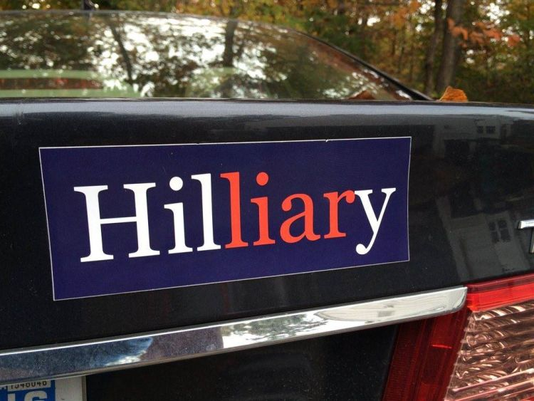 This is the best hillary 2016 bumper sticker of all time