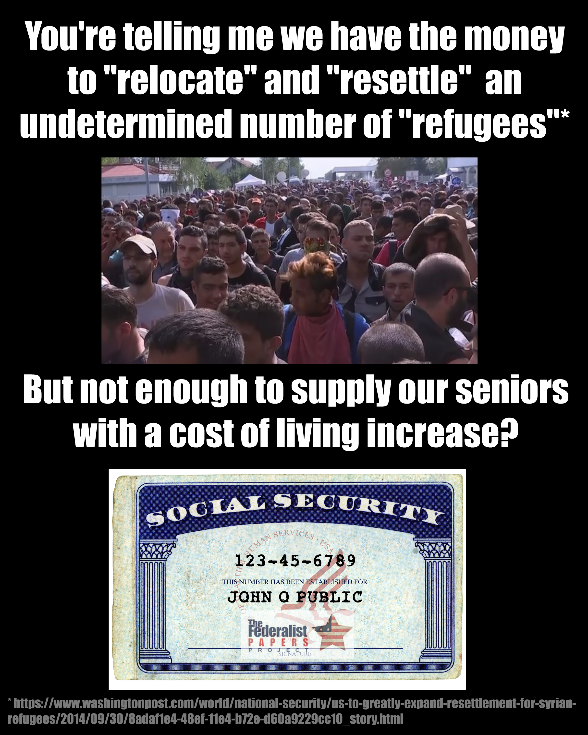 Refugee Quotes Meme Perfectly Exposes Brutal Truth About Refugees In America