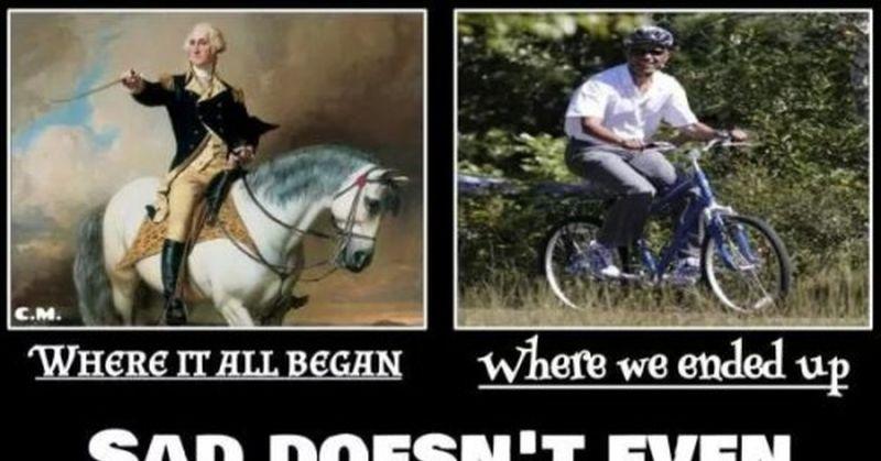 George Washington Christmas Meme.The Difference Between Obama And Washington
