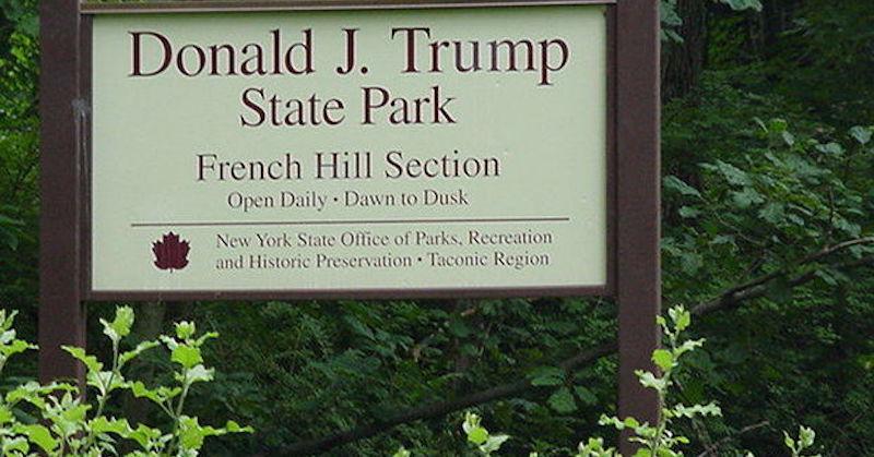 donald trump state park