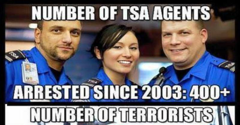 Brutal Meme Shows Exactly Why The Tsa Should Be Abolished