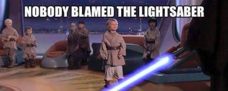 Star Wars Meme Perfectly Explains Insanity Of Gun Control
