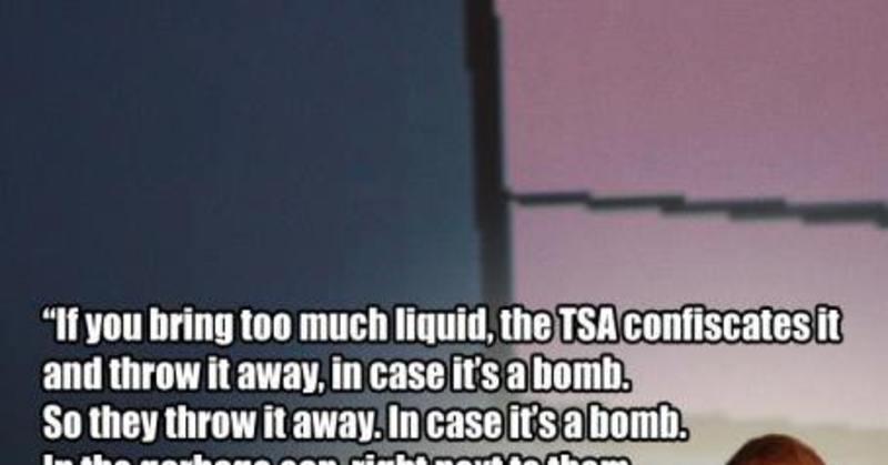 Hilarious Meme Completely Obliterates Tsa Screening Procedures