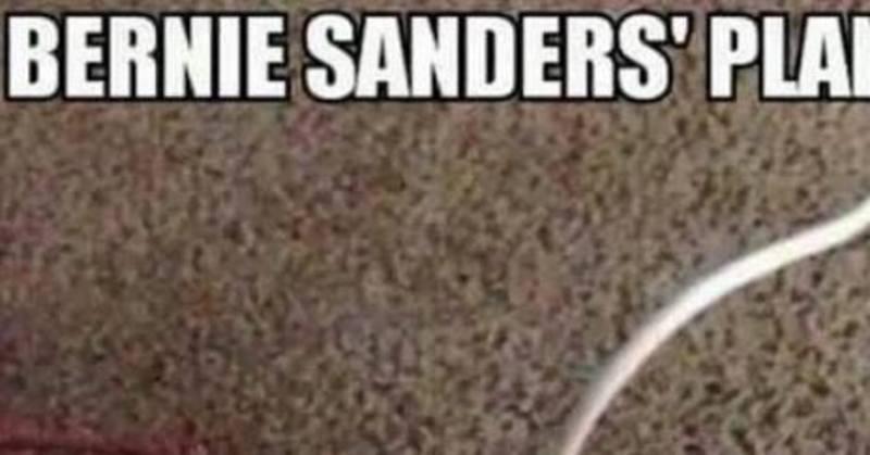 Bernie Sanders' Secret Plan To Pay For 'Free' Stuff [MEME]
