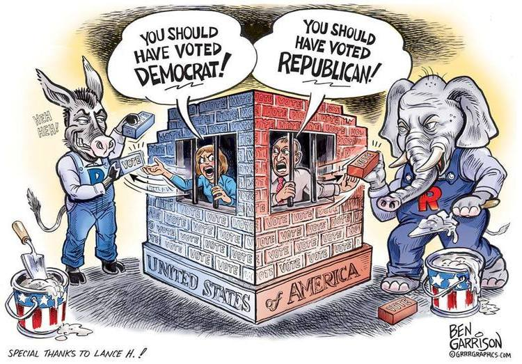 President Vs Gop >> POWERFUL Cartoon Reveals Truth About Democrats and The GOP