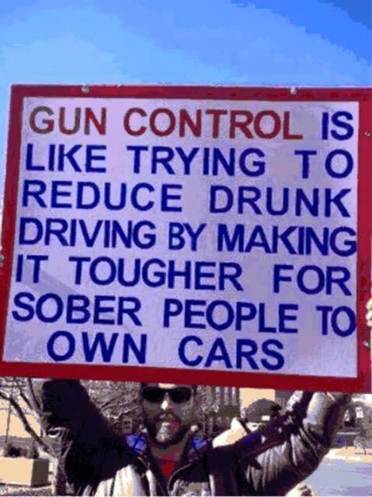 Genius Meme BRUTALLY Compares Gun Control and Drunk Driving